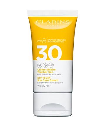 Clarins Crema Solar Tacto Seco UVA/UVB SPF30 Rostro