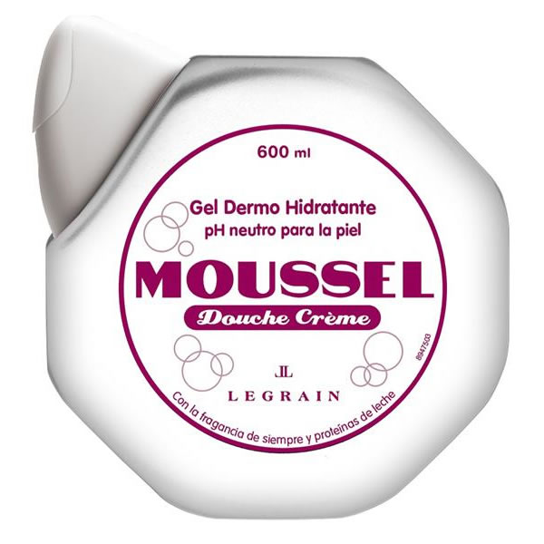 Moussel Gel Hidratante Blanco  600 + 300 ml