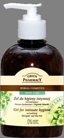 Green Pharmacy Gel Higiene Íntima Arbol de Té y Caléndula