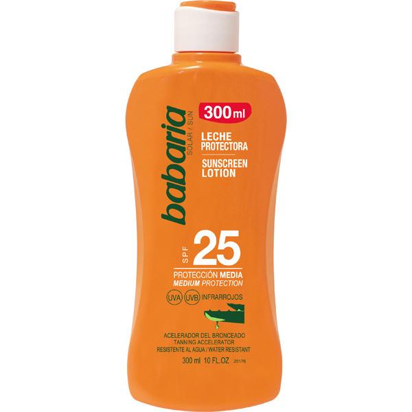 Babaria Leche Aloe SPF25  300 ml