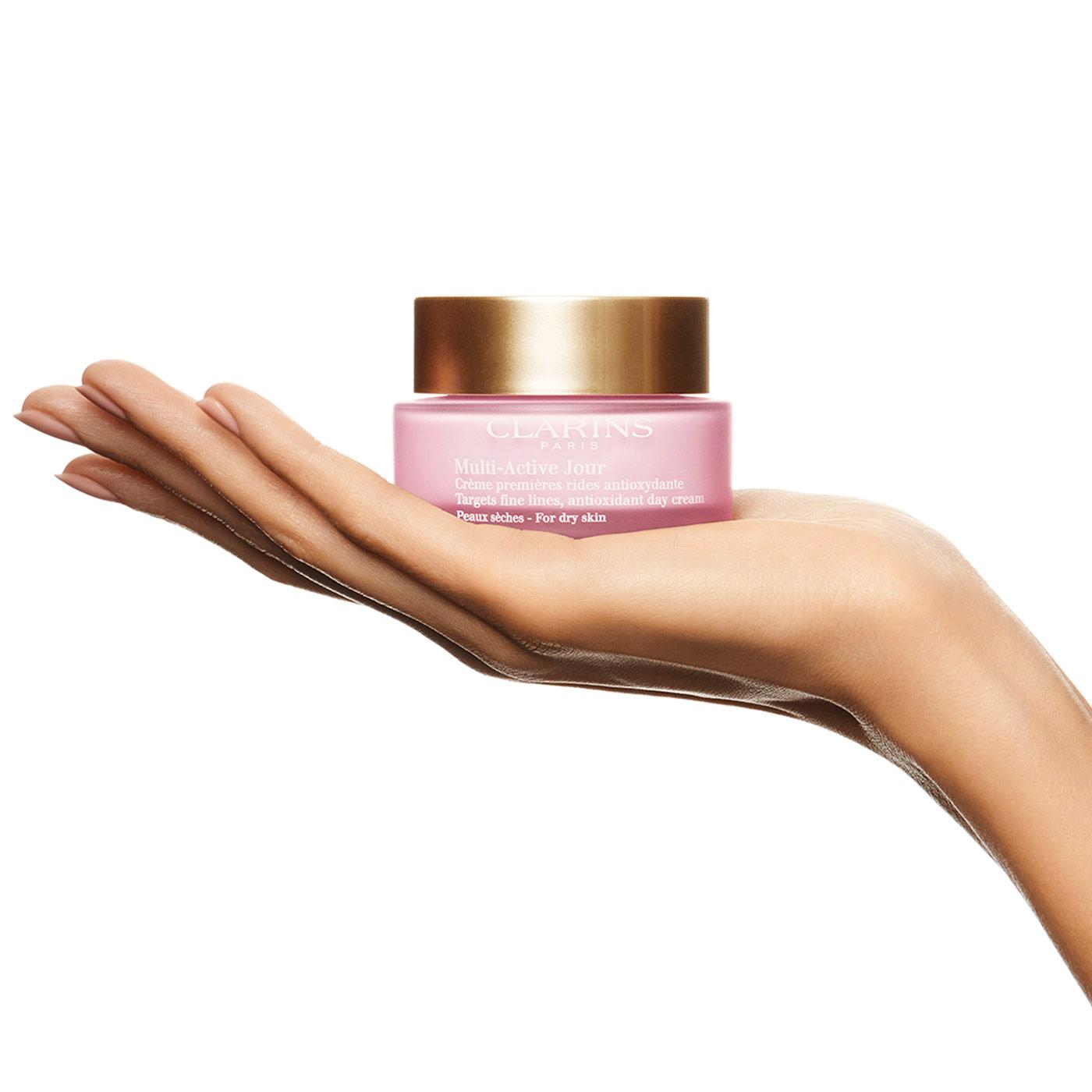 Clarins Crema Multi-Activa Día PS  para pieles secas