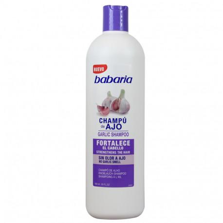Babaria Champú Ajo  600 ml