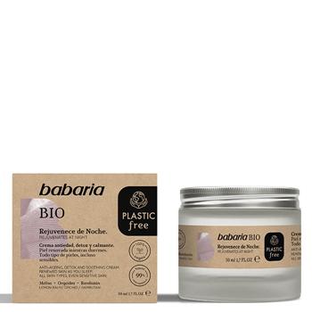 Babaria Crema Facial Noche Bio  50 ml