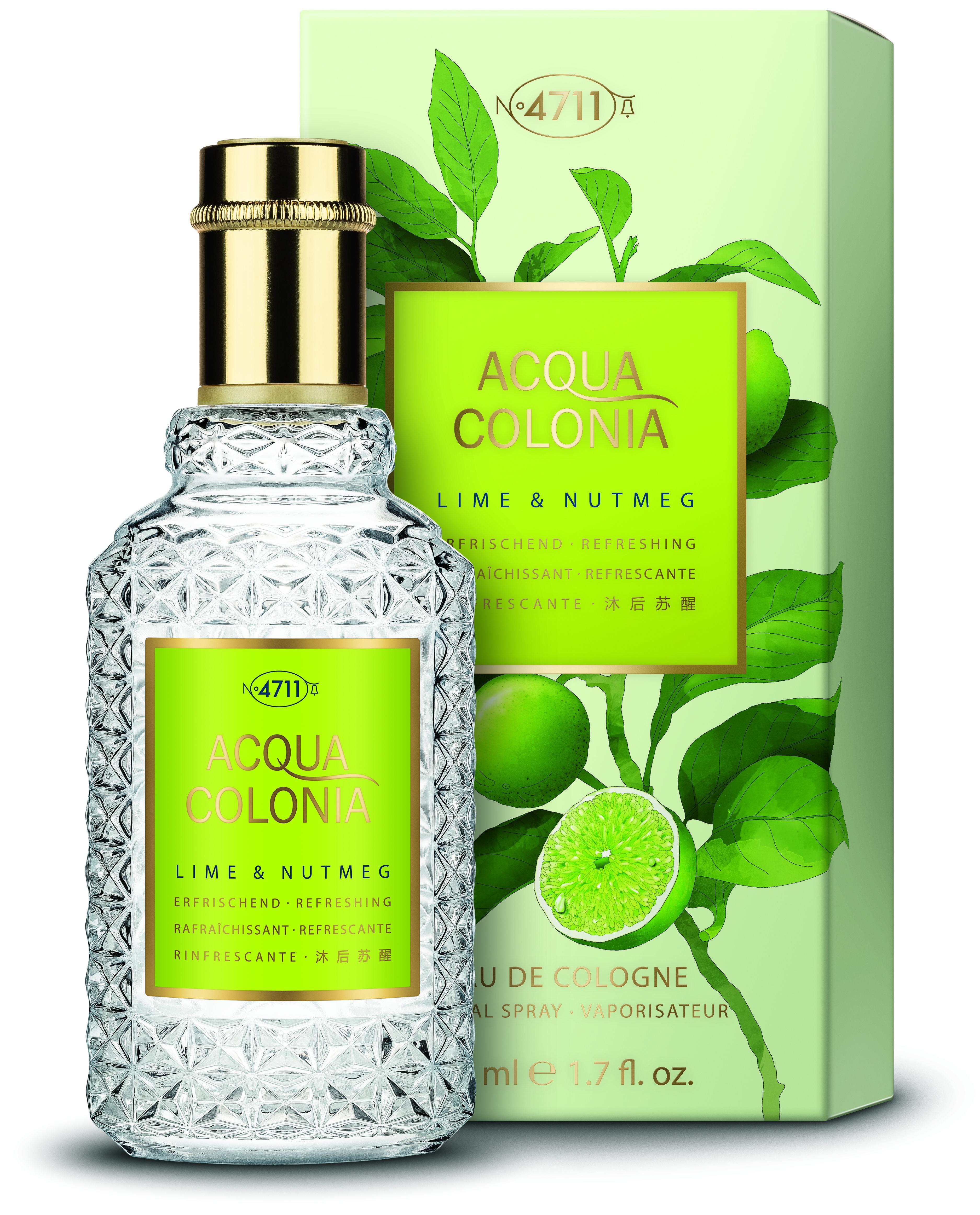 4711 Acqua Colonia Lime & Nutmeg  Eau de Cologne unisex 50 ml