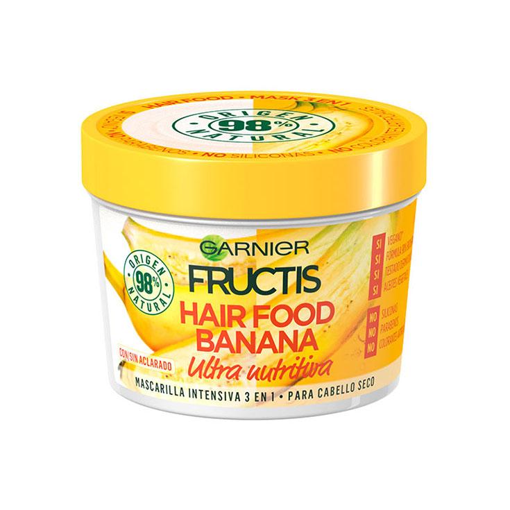 Fructis Mascarilla Hair Food Banana  390 ml