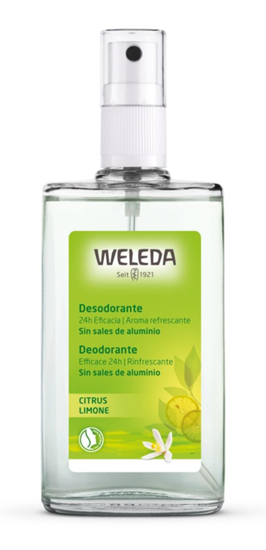 Weleda Desodorante Spray Citrus  100 ml