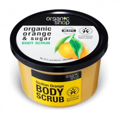 Organic Shop Exfoliante corporal naranja siciliana