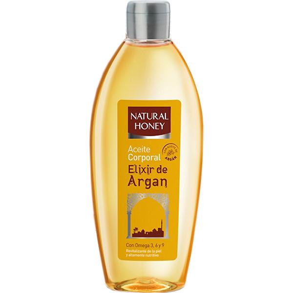 Natural Honey Aceite corporal Argán sin aclarado  300 ml