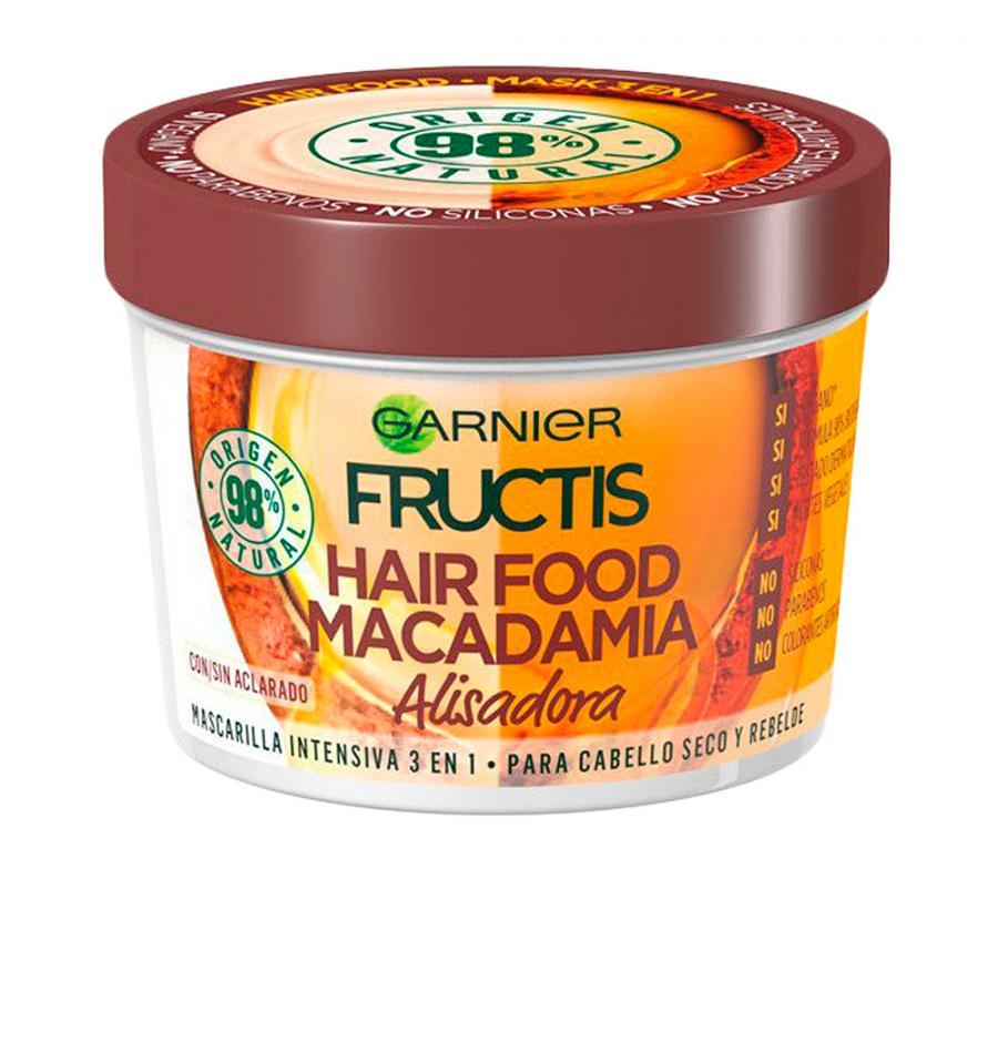 Fructis Mascarilla Hair Food Macadamia  390 ml