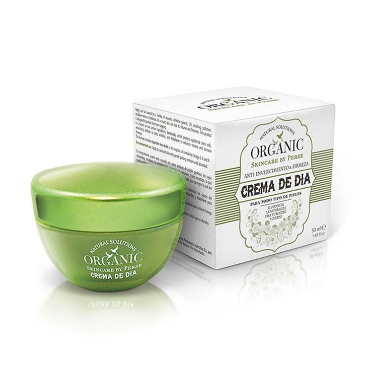 Organic Crema de día anti-envejecimiento  50 ml