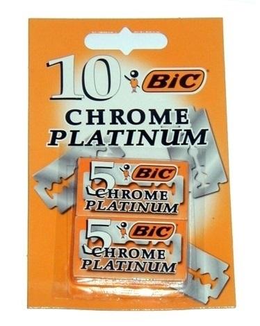 Bic Hojas de Afeitar Platinum  10 unidades