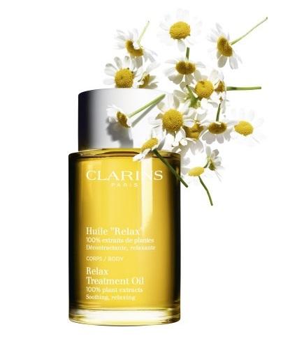 """Clarins Aceite """"Relax""""  100% Extractos Puros de Plantas"""