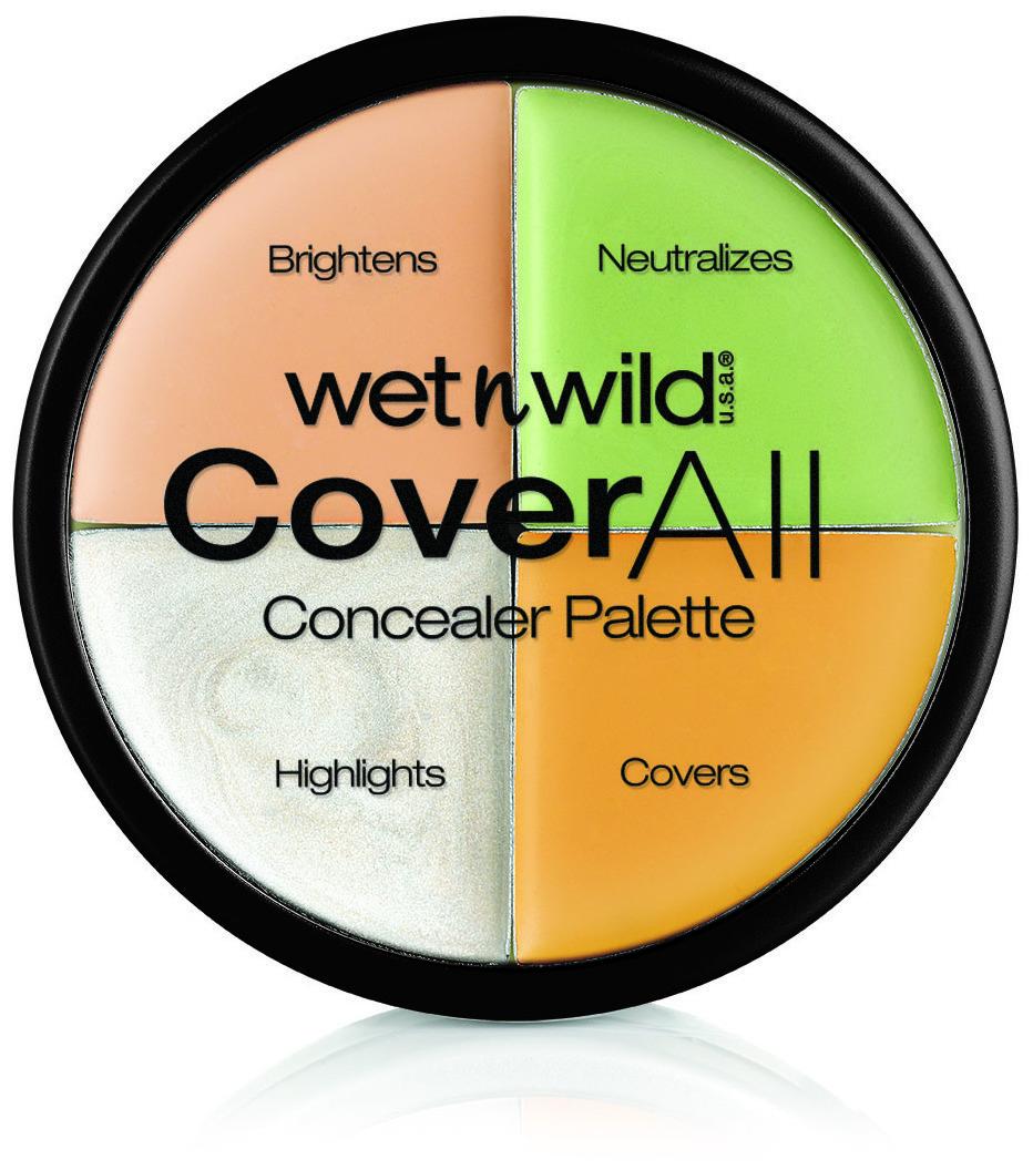 Wet n Wild Coverall Correcting Palette  Paleta de correctores