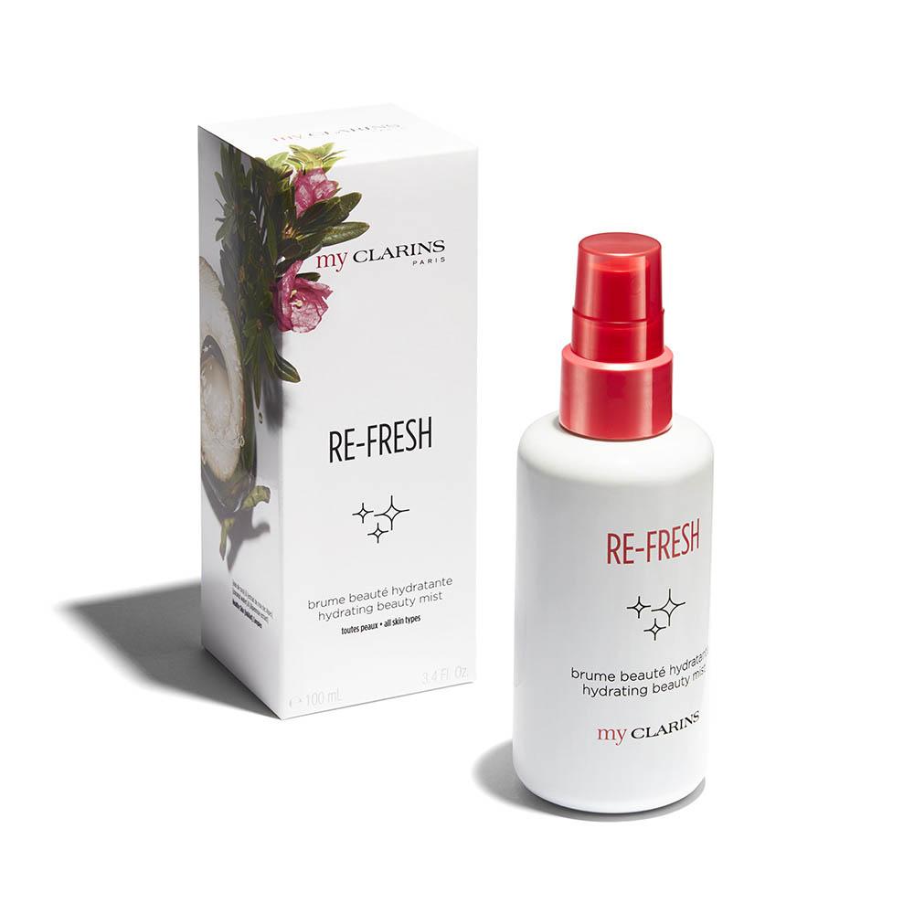 Clarins Re-Fresh Brume Beauté Hydratante  para todo tipo de pieles 100 ml