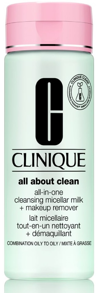 Clinique All About Clean All-in-One Cleansing Micellar Milk + Makeup Remover