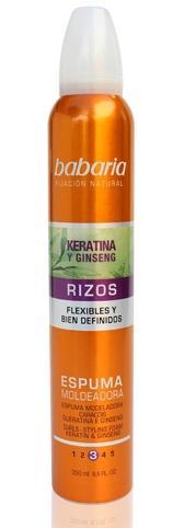 Babaria Espuma Capilar Rizos Keratina  250 ml