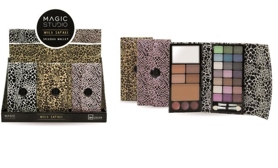 Magic Studio Splendid Wallet Wild Safari  Estuche de Maquillaje