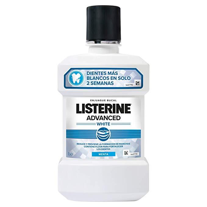 Listerine Enjuague Bucal Blanqueador  500 ml