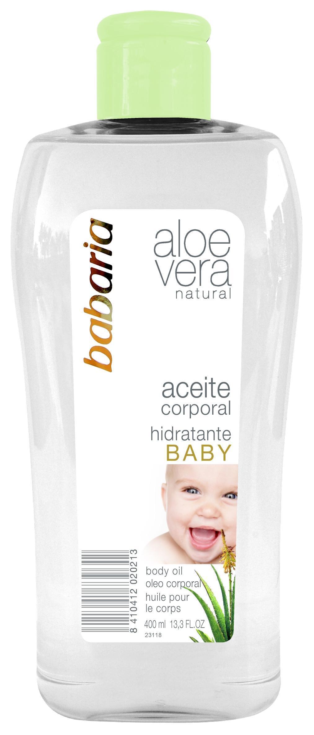 Babaria Aceite Corporal Aloe Vera