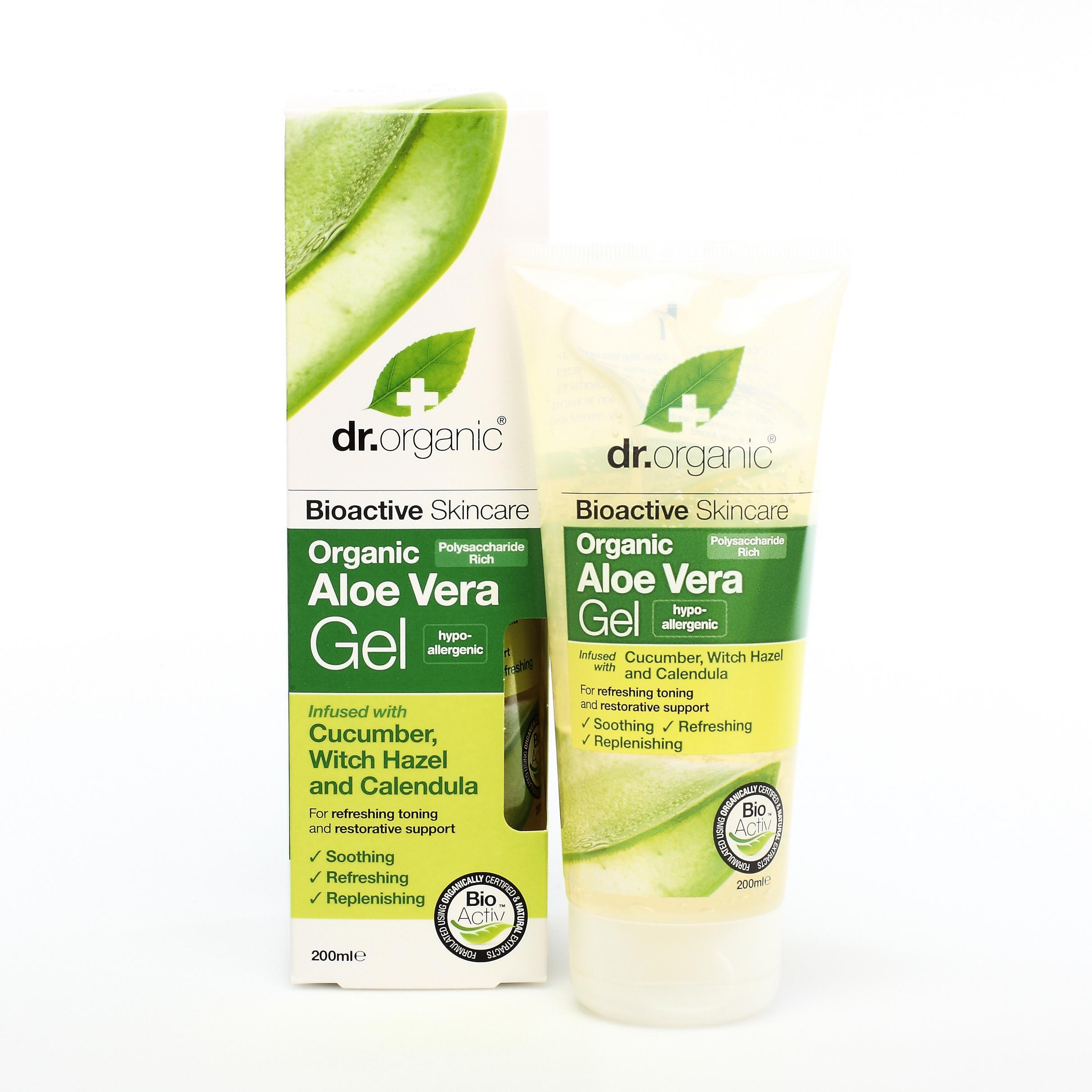 Dr. Organic Gel de Aloe Vera Gel con Pepino y Caléndula