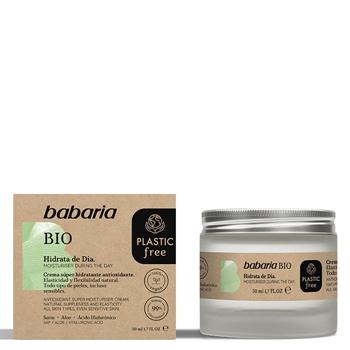 Babaria Crema Facial Hidratante Día Bio  50 ml