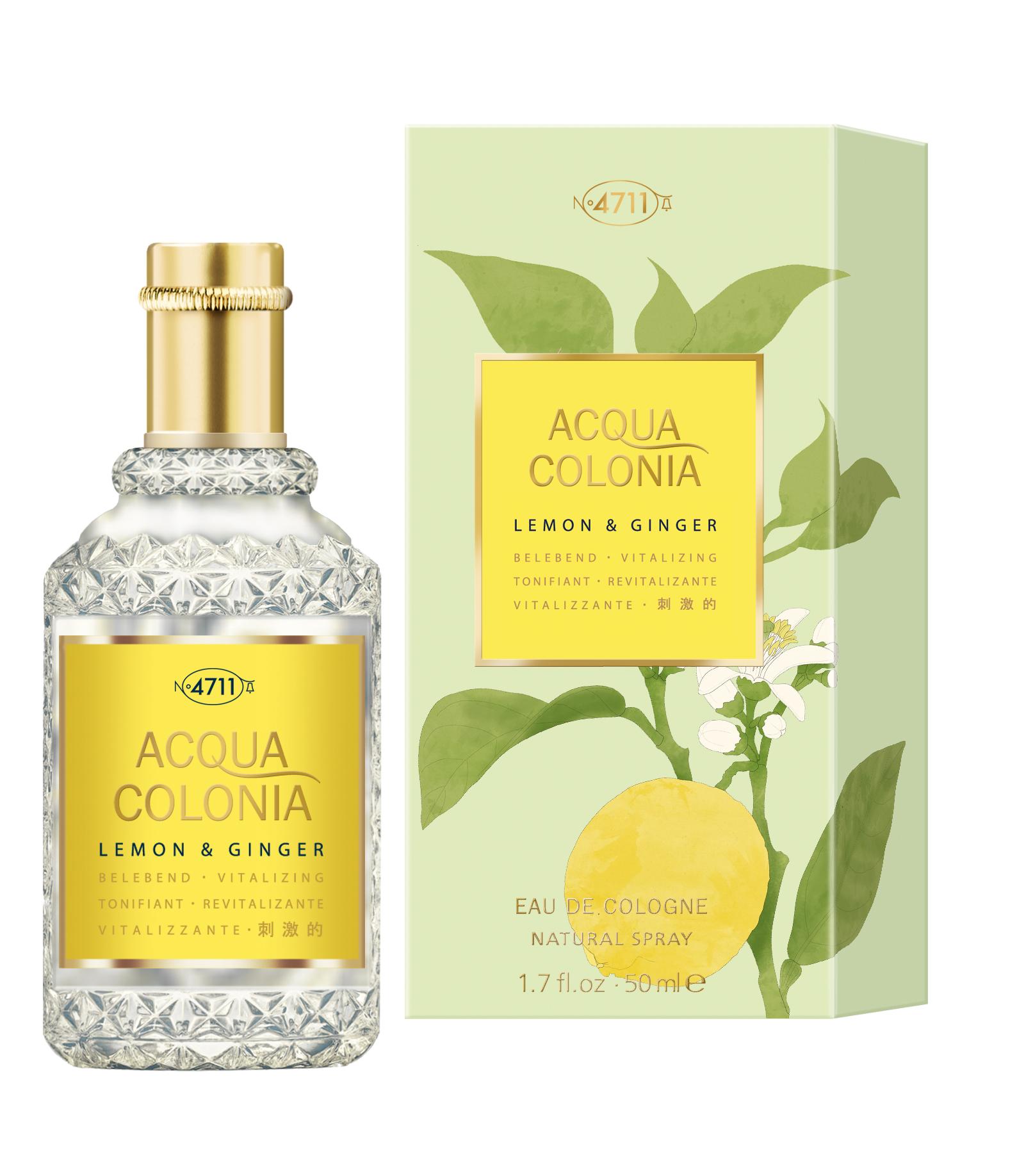 4711 Acqua Colonia Lemon & Ginger  Eau de Cologne unisex 50 ml