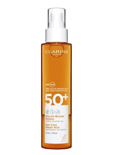 Clarins Agua Solar en Bruma Cuerpo SPF50+