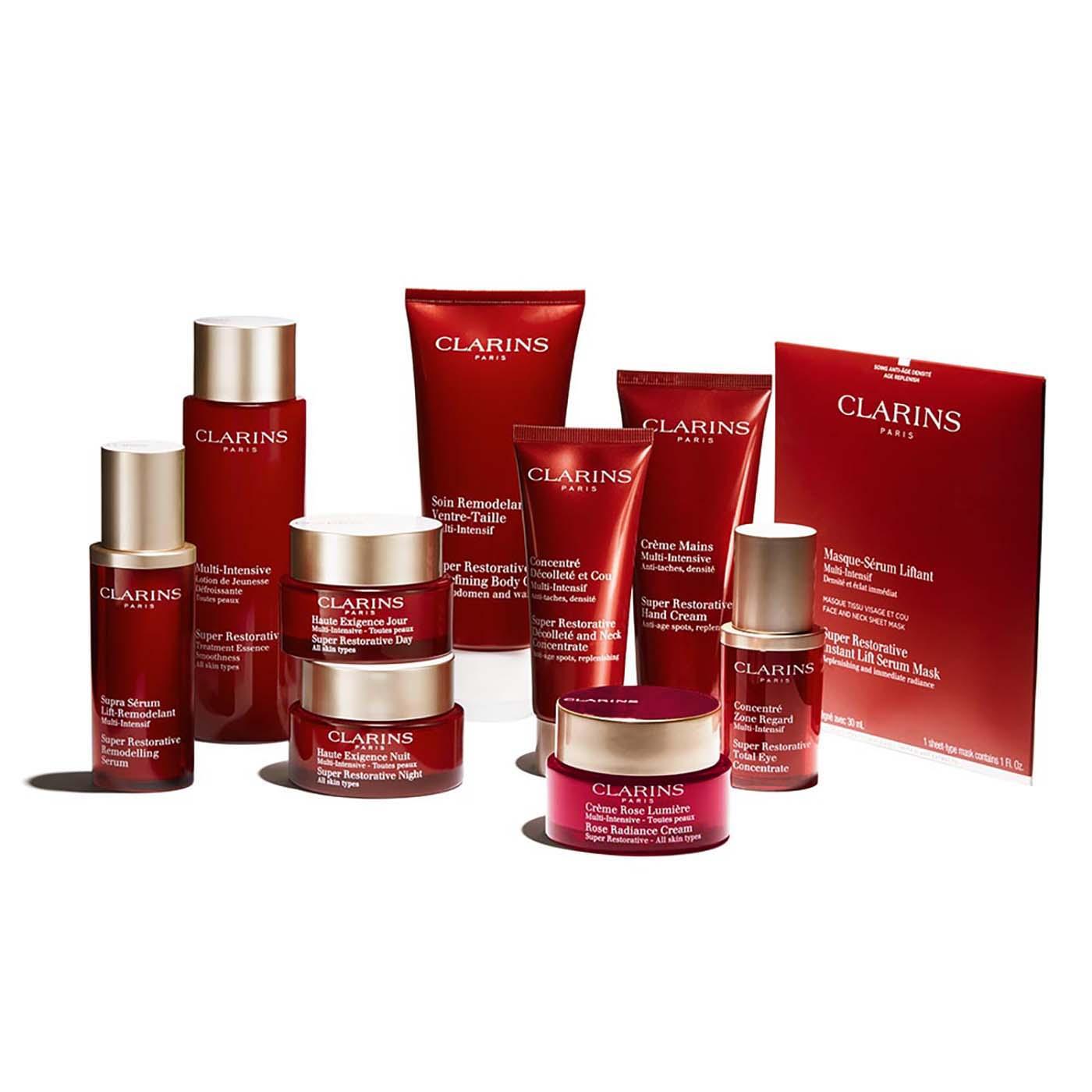 Clarins Multi-Intensiva Rose Lumière Día  para todo tipo de pieles