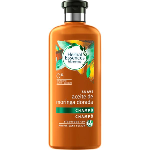 Herbal Essences Champú Suavizante Aceite de Moringa  400 ml