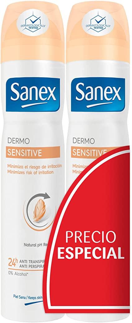 Sanex Desodorante Spray Dermosensitive  200 ml Duplo