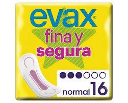 Evax Fina y Segura Compresa Normal  16 unidades
