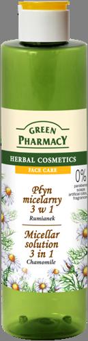 Green Pharmacy Agua Micelar 3 en 1 Camomila