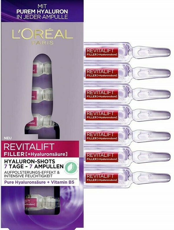 L'Oréal Revitalift Laser Filler Ampollas 7 Días