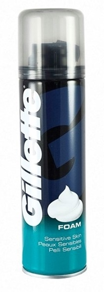 Gillette Espuma de Afeitar Pieles Sensibles  200 ml
