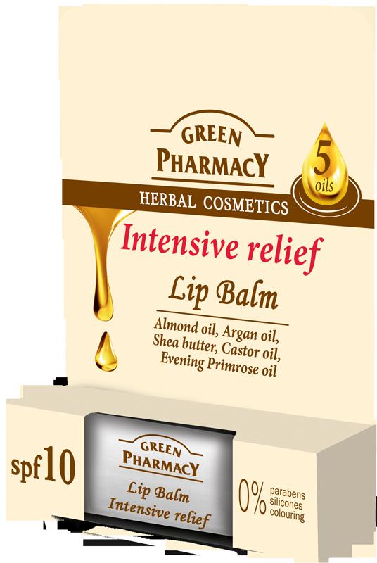 Green Pharmacy Bálsamo Labial 5 Aceites