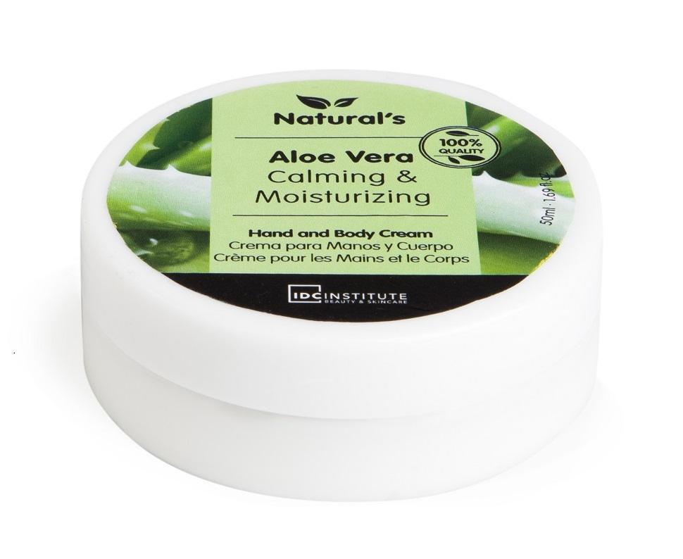 IDC Crema de Manos Aloe  50 ml