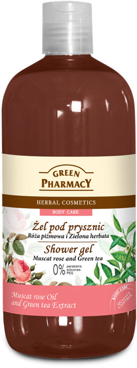 Green Pharmacy Gel de Ducha Rosa Mosqueta y Té Verde