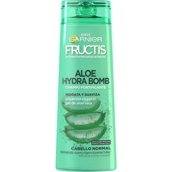 Fructis Champú Hidra Bomb Aloe  360 ml