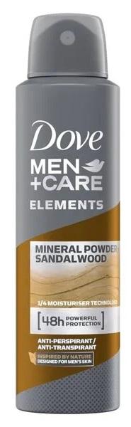 Dove Men Desodorante Mineral Spray  150 ml