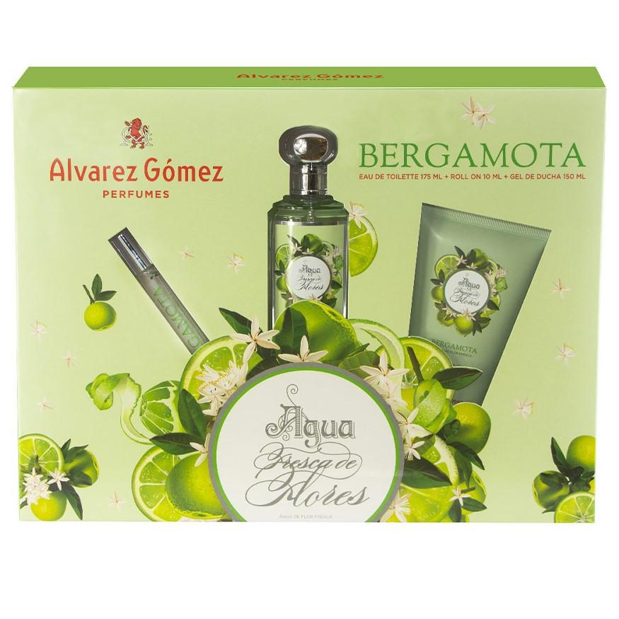 Álvarez Gómez Agua Fresca Flores Bergamota Estuche