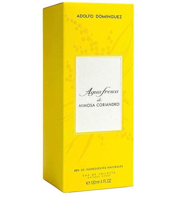Adolfo Dominguez Agua Fresca de Mimosa Coriandro  Eau de Toilette 120 ml