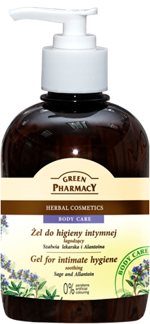 Green Pharmacy Gel Higiene Íntima Salvia y Alantoina