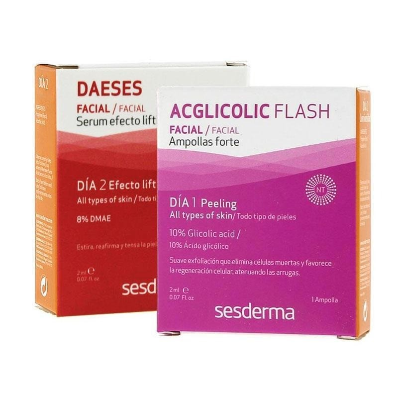 Sesderma Daeses Ampollas Faciales Serum Efecto Lifting + Acglicolic