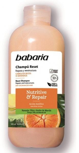 BABARIA CHAMPÚ RESET NUTRITIVE & REPAIR
