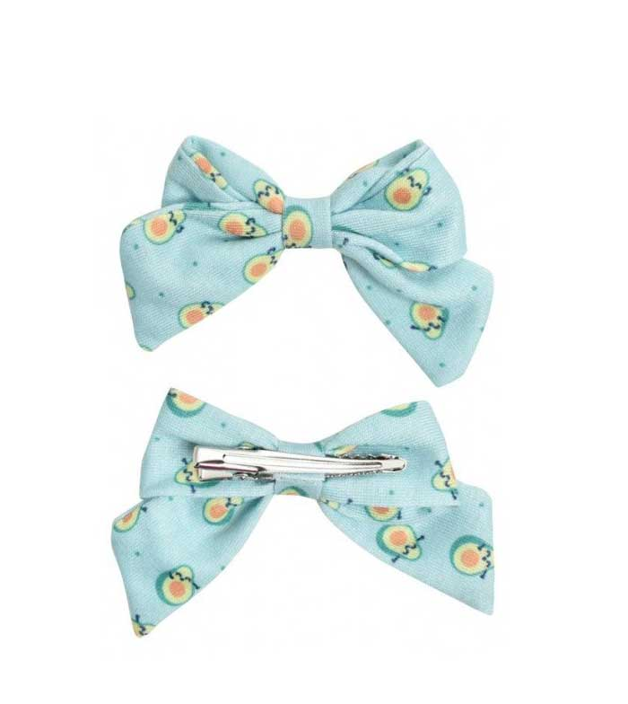 Mr.Wonderful by BETER CLIPS DE PELO LAZO AGUACATE  2 UNIDADES