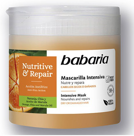 BABARIA MASCARILLA INTENSIVA NUTRITIVE & REPAIR  400 ML