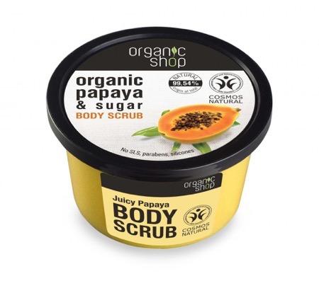 Organic Shop Exfoliante corporal papaya