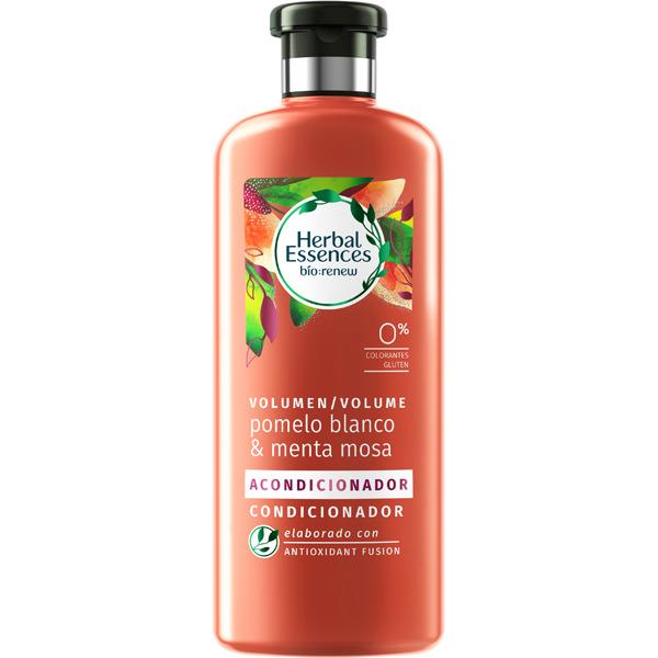 Herbal Essences Acondicionador Volumen Pomelo Blanco  400 ml