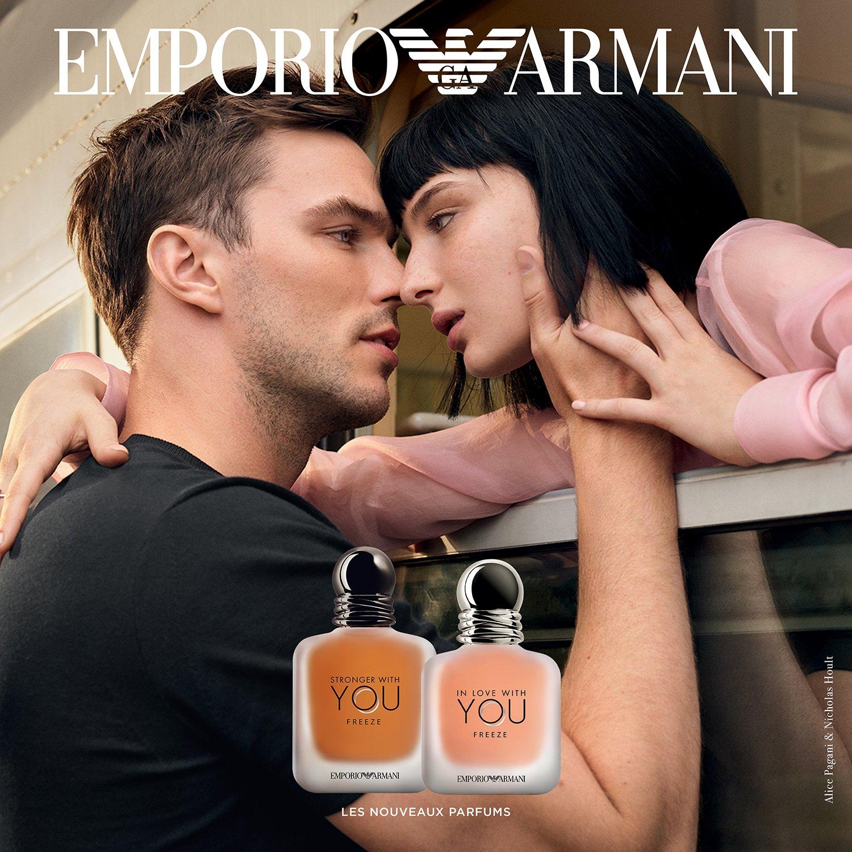 Emporio Armani Stronger With You Freeze  Eau de Toilette para hombre