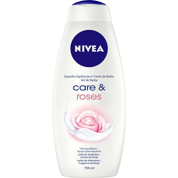 Nivea Gel Care & Rose  750 ml